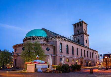 church of our lady in copenhagen