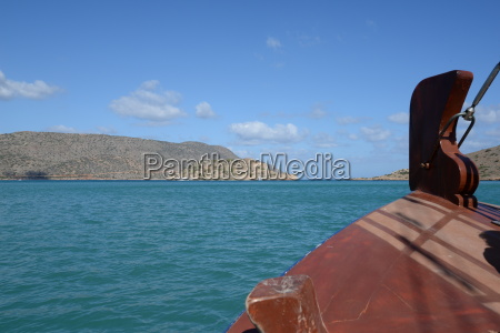 boat trip to the island of
