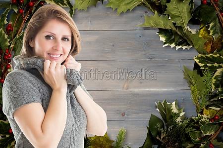 donna risata sorrisi lavagna pannello moda