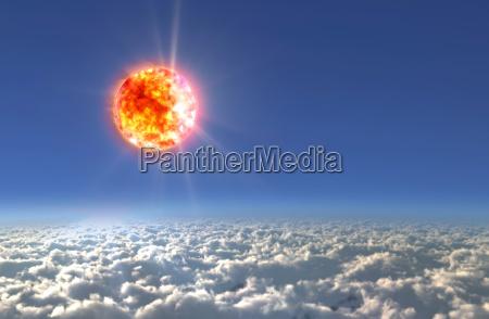 solar sun light day