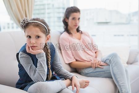 madre e figlia non parlare dopo