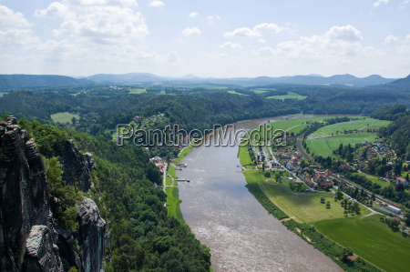 elbe sandstone mountains sassonia germania