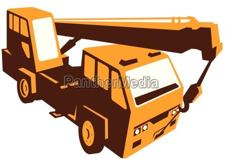 veicolo idraulico tirare su issare sollevare