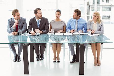 pannello di responsabili del personale aziendale