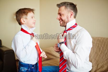 lezione da padre
