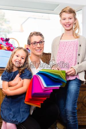 caucasico europeo hobby negozio comperare mamma
