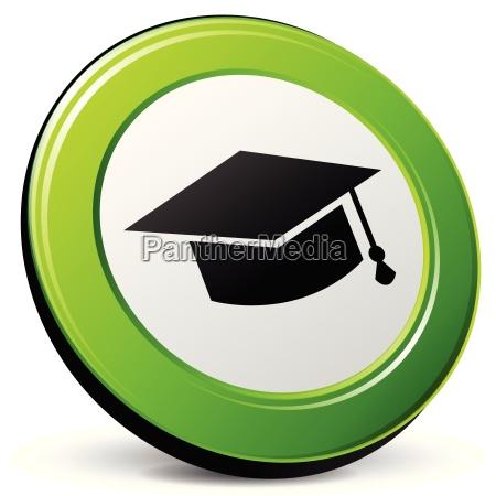 educazione icona 3d