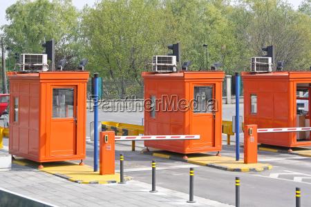 trasporto separe barriera chiosco stand fieristico
