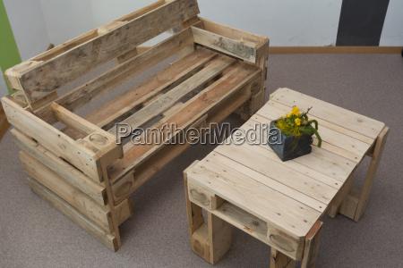 arredamento sede legno da banco