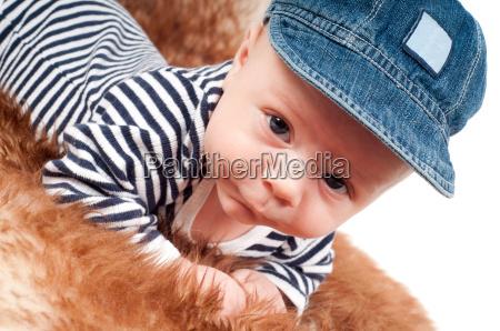 pelliccia piccolo poco breve bambino neonato