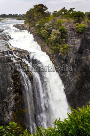 viaggio viaggiare africa cascata paesaggio natura
