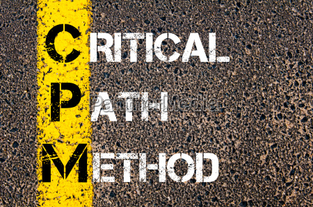 business acronym cpm as critical path