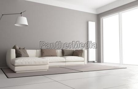 minimalist soggiorno