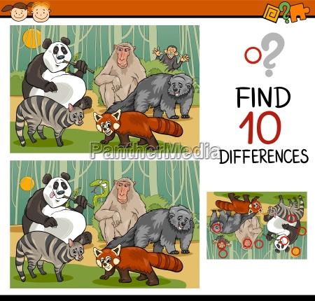 educazione illustrazione enigma trovare scoperta fumetto