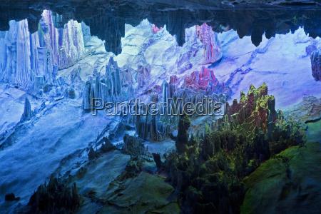 grotta turista porcellana grotte flauto