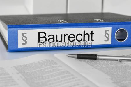 cartelle di file etichettati baurecht
