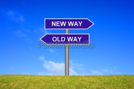 cartelli vecchio modo nuovo modo