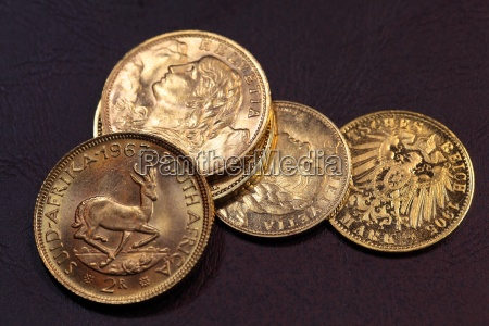 vecchie monete doro