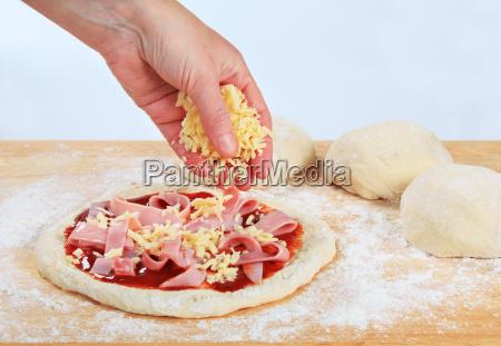 cibo mano primo piano cucinare cucina