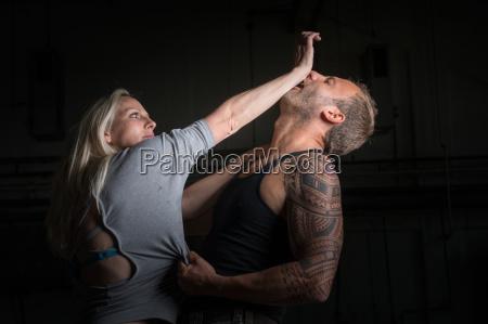 donna consulenza panico crimine vittima violenza