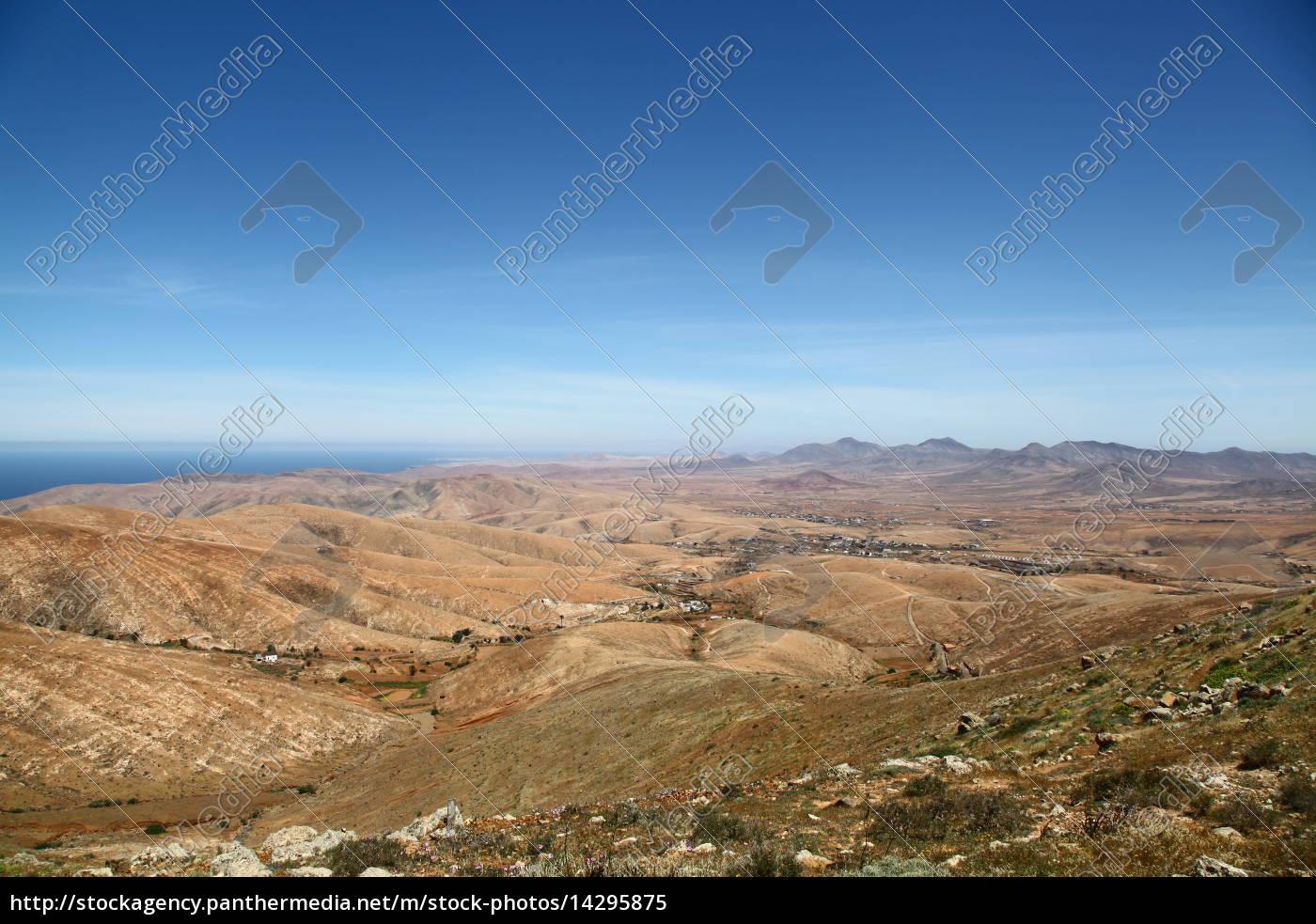 collina, montagne, canarie, paesaggio, natura, canarini - 14295875