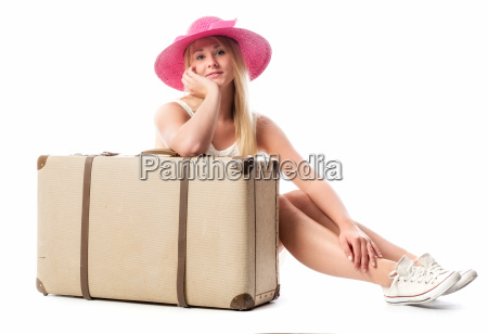 girl sitting in front of a