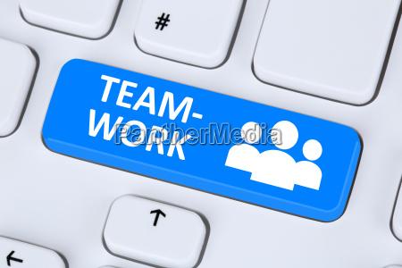 ufficio tastiera amicizia pc computer con