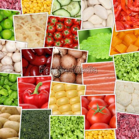 cibo vitamine bio biologico fagioli cetriolo