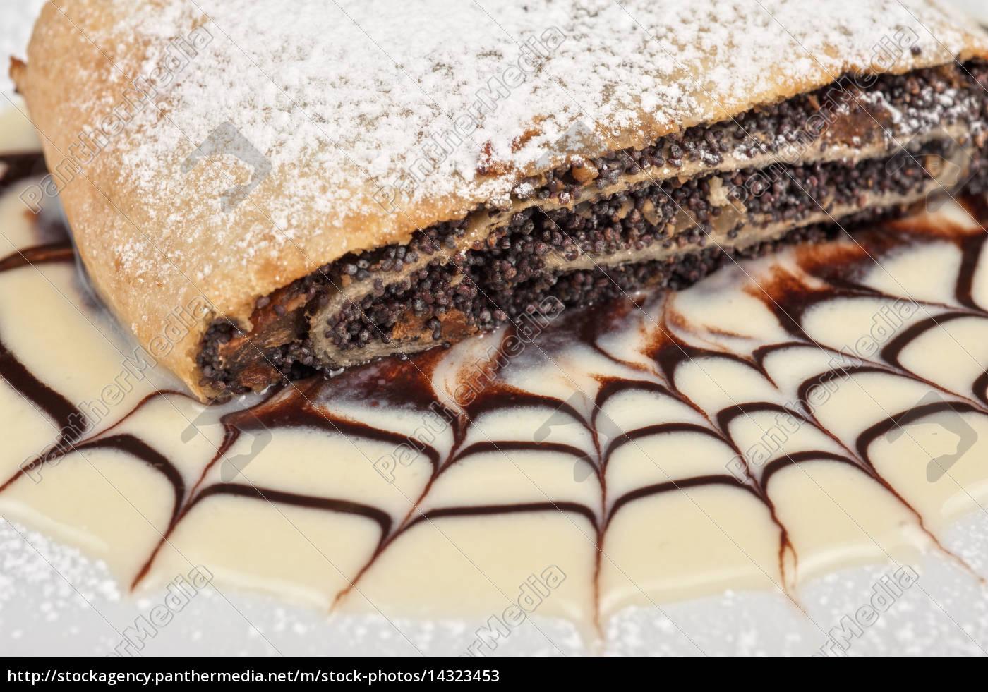 pancake, con, semi, di, papavero - 14323453