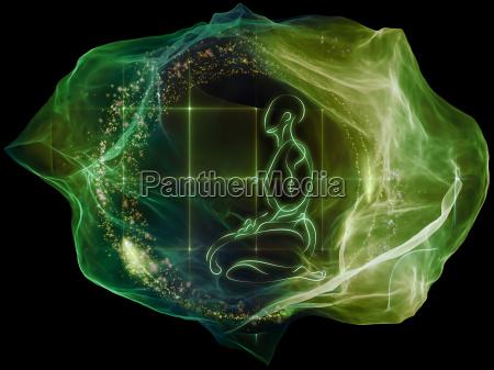 particella bagliore della mente