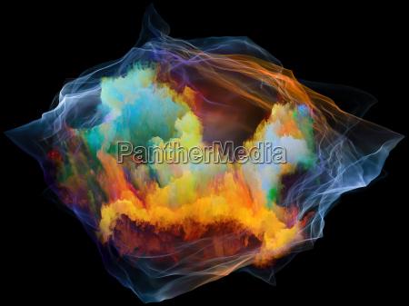 particella di danza della mente