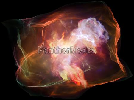 visione di particelle mente