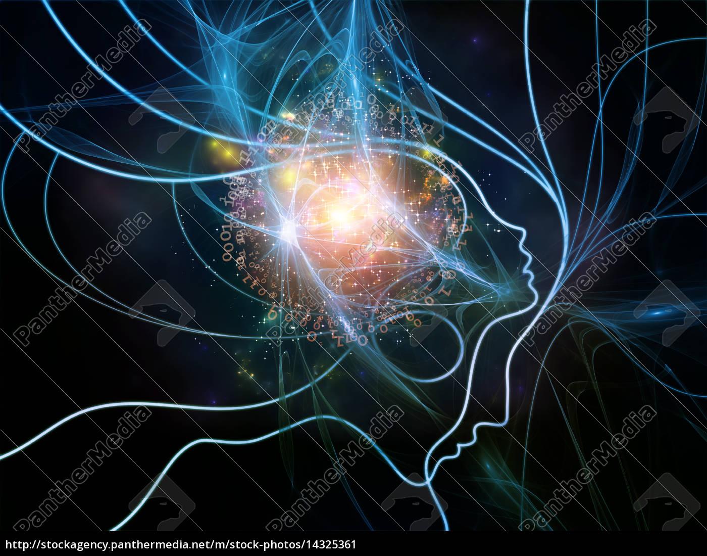luci, di, rete, di, pensiero - 14325361