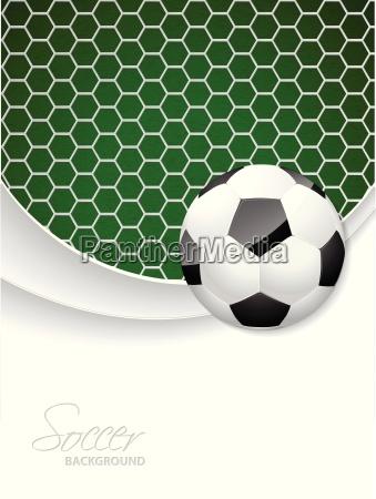 disegno di brochure di calcio con