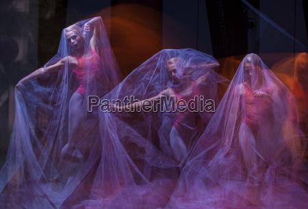 danza sensuale ed emozionale della bella