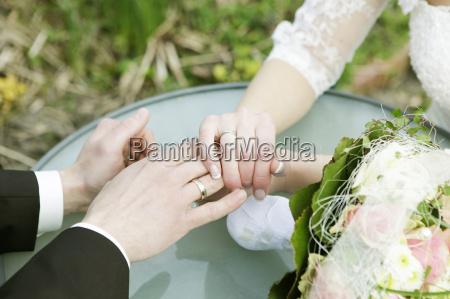 mano nozze matrimonio convivenza anelli amare