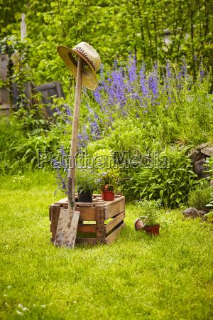 giardino di elettrodomestici in legno box