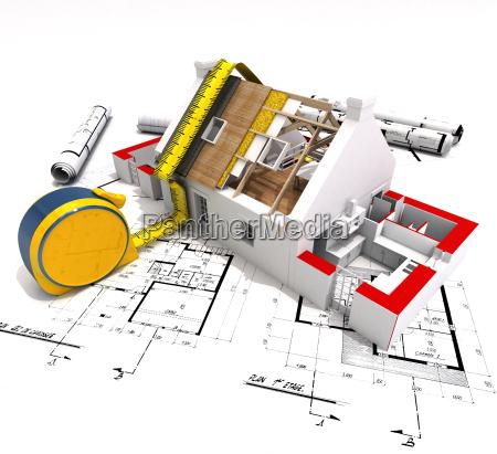casa costruzione suono progettazione concetto modello