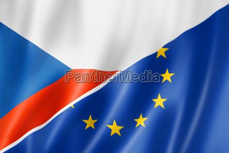 caucasico europeo europa bandiera ceco