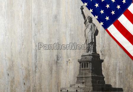 blu monumento americano statua turismo nuovo