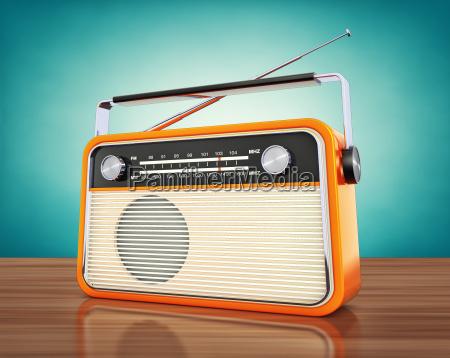 divertimento musica annata radio vendemmia trasmettere