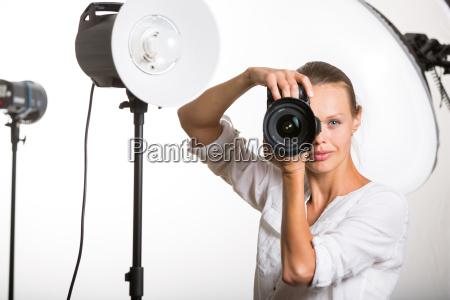 ritratto hobby macchina fotografica studio fotografo