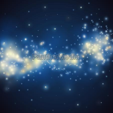 blu arte spazio notte nero morbido