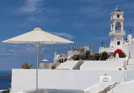 chiesa grecia campanile isola
