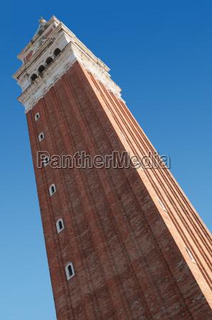 campanile in piazza san marco a