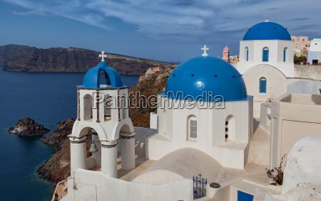 blue cupolas