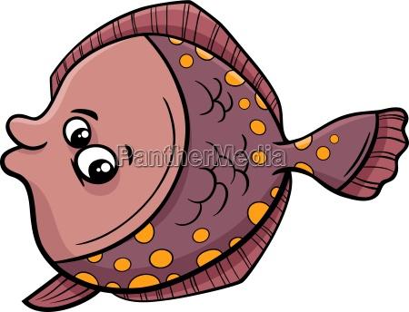 illustrazione del fumetto di pesce passera