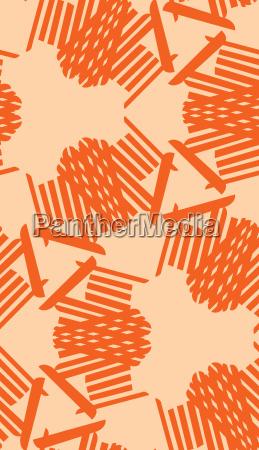linee senza fine simmetria illustrazione cartoleria