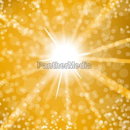 sfondo scoppiato del sole estivo sole