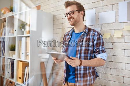 architetto, con, touchpad - 14585529